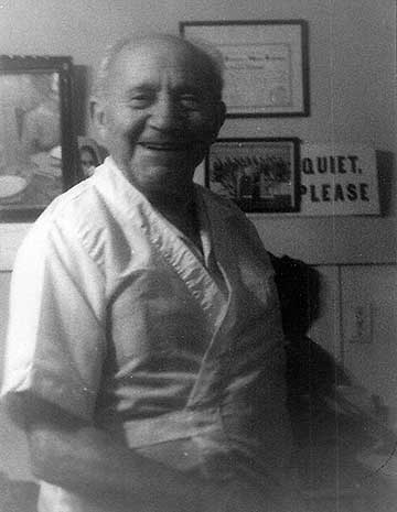 Dr. Rotondi in his home-office, ca. 1974